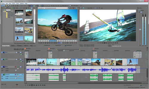 Top 5 Video Editing Software - Sony Movie Studio Platinum