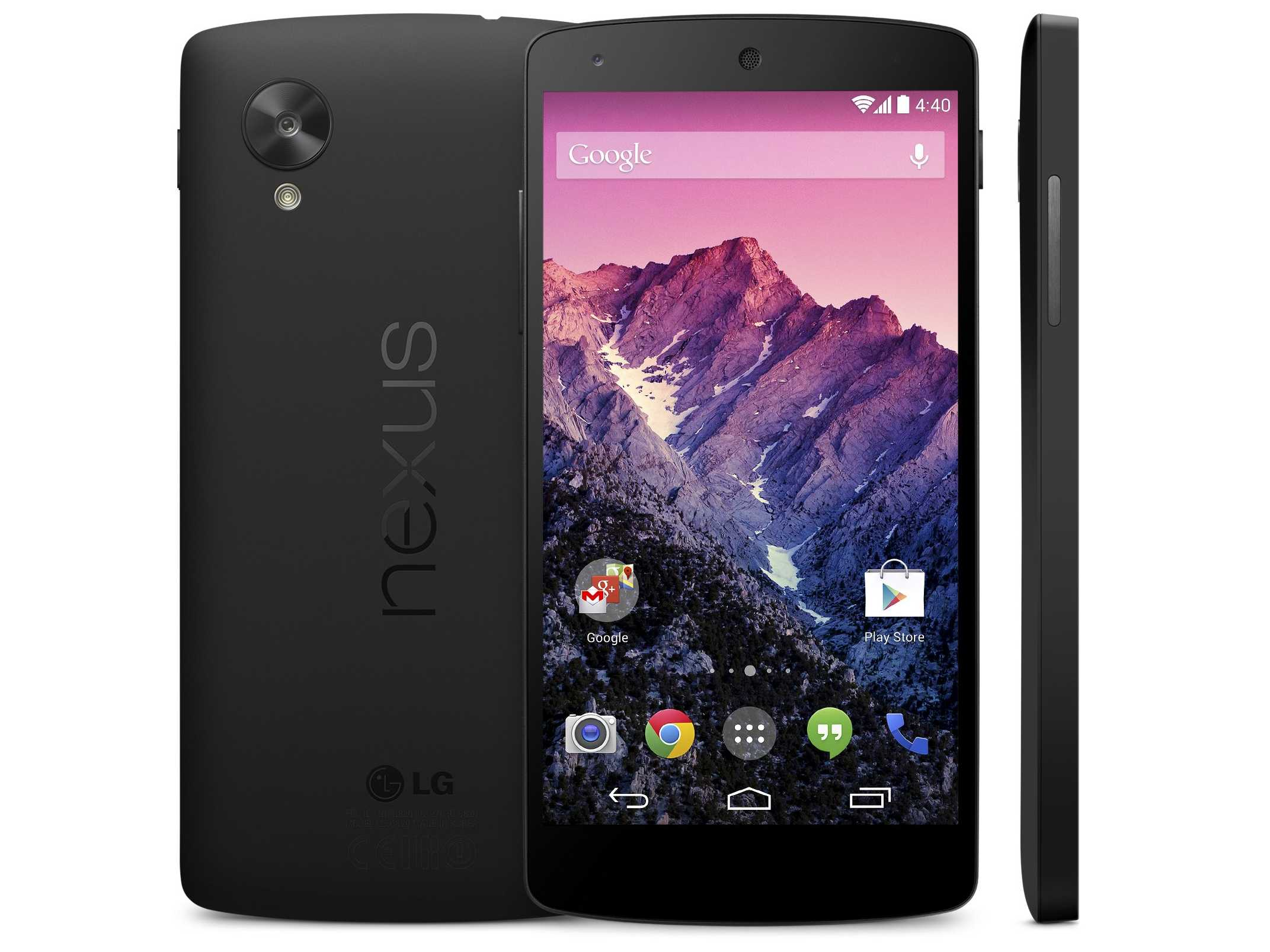 Google Nexus 5 and Android 4.4 KitKat Preview - Nexus 5