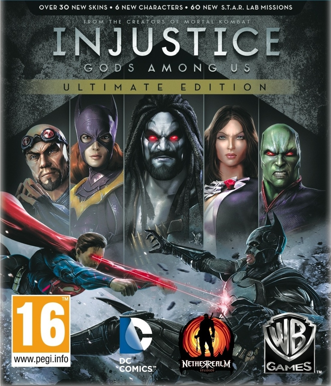 Injustice - Gods Among Us PC Review Boxart