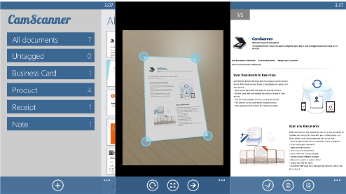 Must Have Windows Phone 8 Apps - CamScanner