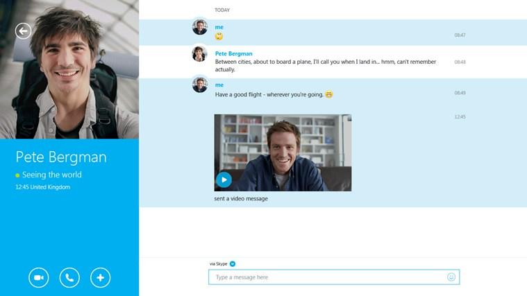 Skype windows 8.1 update