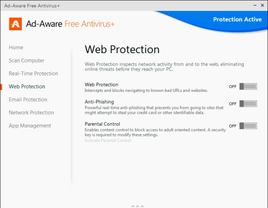 Top 5 Best Free Antivirus Software For Windows 8.1 - Ad-Aware 11 Free