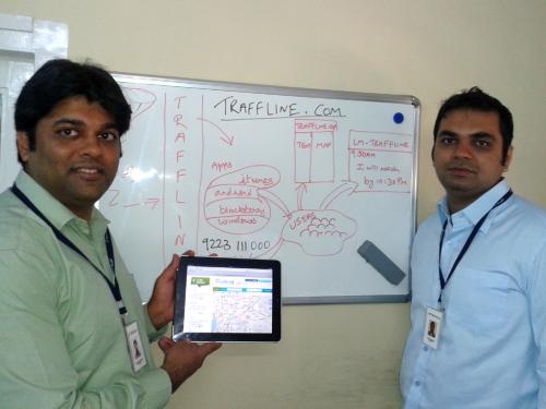 Traffline app founder