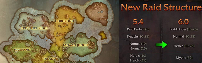 World of Warcraft Warlords of Draenor Preview - Raids