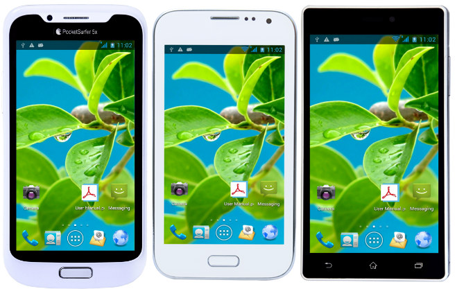 DataWind Launches PocketSurfer Smartphone Range - 1