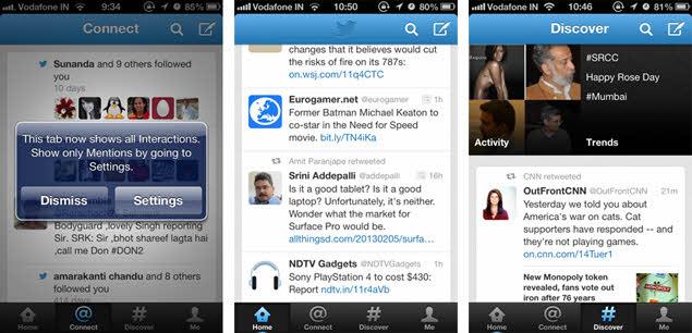 Twitter 5.3 IOS Update