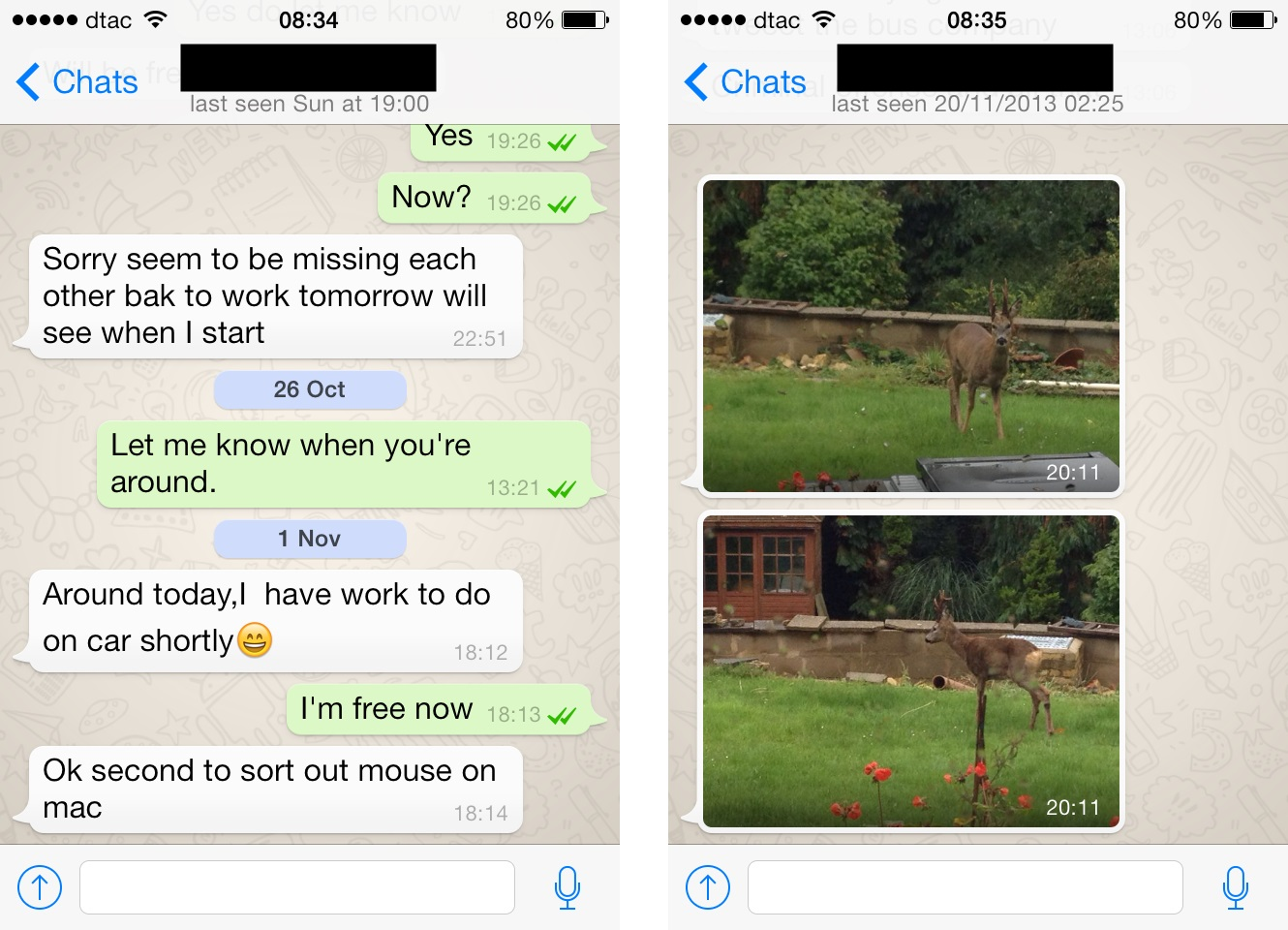 WhatsApp for iPhone Gets An Update - 2