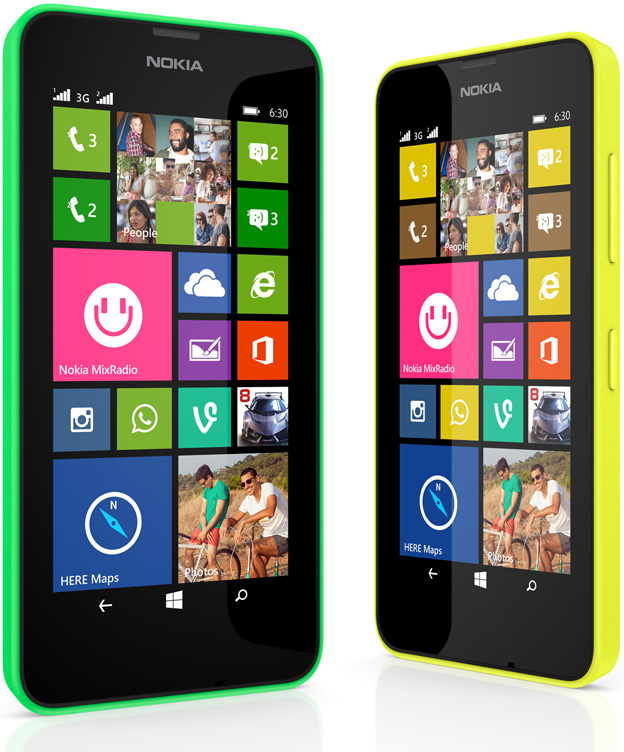 Nokia Lumia 930, 630 and 635 Launched - Lumia 635 and 630