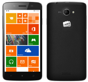Micromax Launches Windows Phone Devices - Canvas Win W121