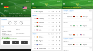 Top 4 Apps to Track the FIFA World Cup 2014 On Smartphones - Onefootball Brasil