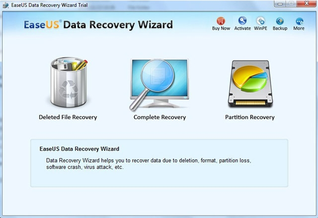 Top 5 Free Data Recovery Tools - EaseUS Data Recovery Wizard