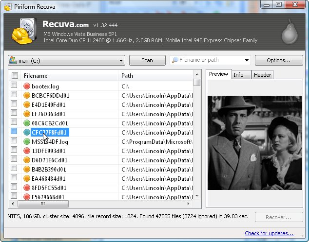 Top 5 Free Data Recovery Tools - Recuva