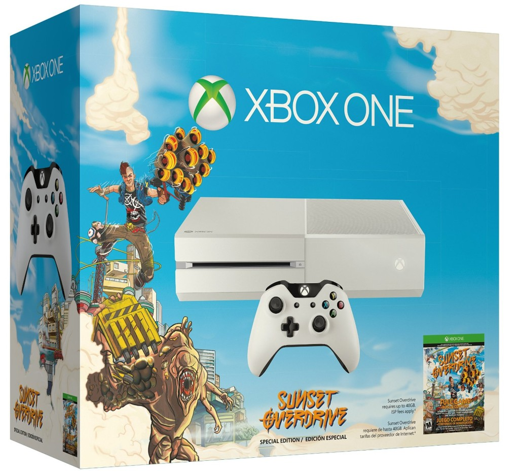 Gamescom 2014 Microsoft Xbox Roundup - Sunset Overdrive Bundle