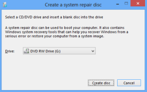 How To Create A Windows Recovery Drive Or Disc - Windows 8.1 (2)