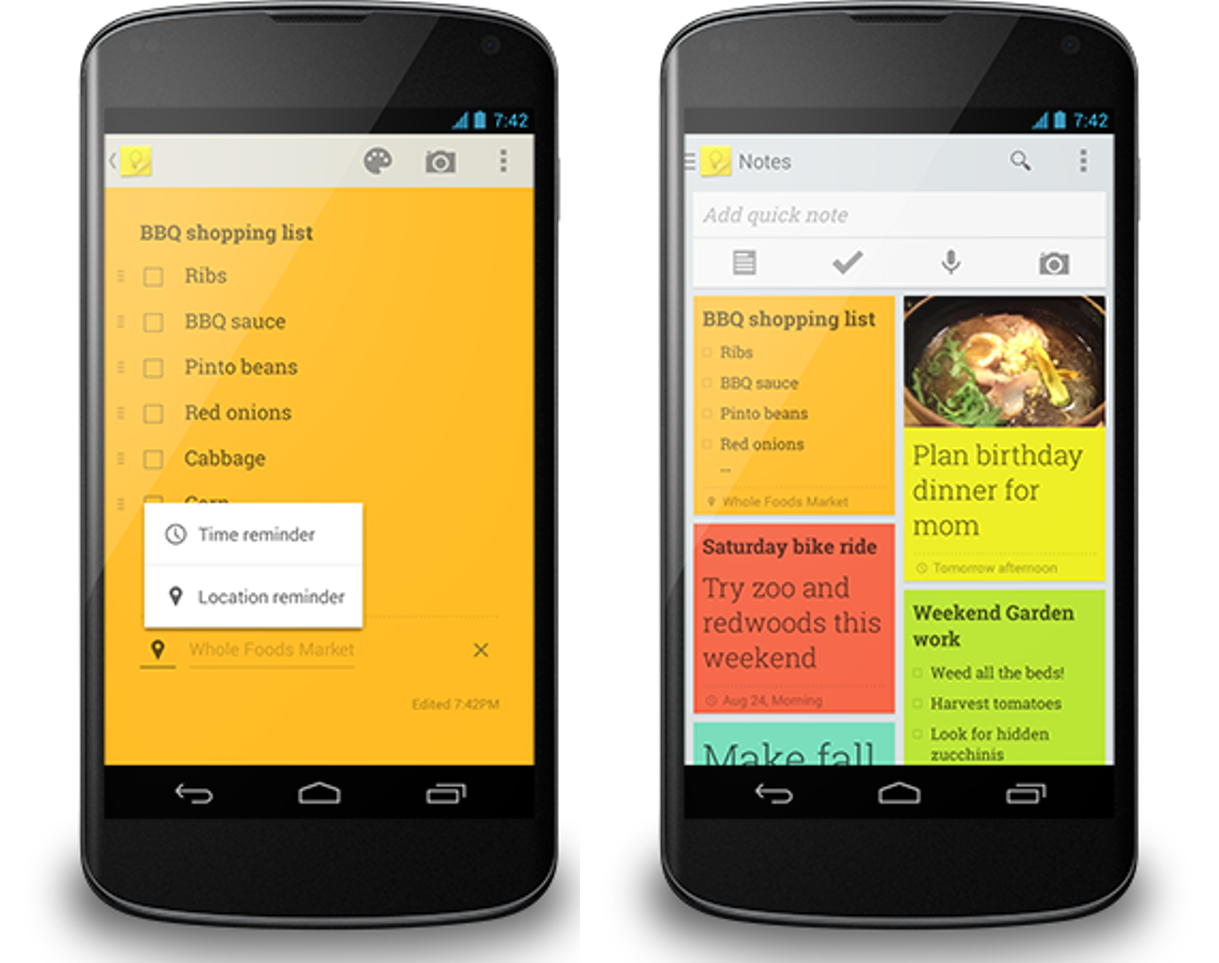 5 Best To-Do List Managers for Android - Google Keep