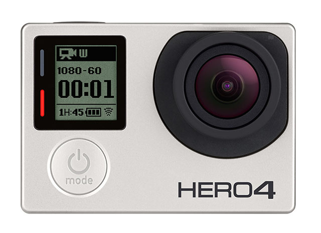 5 Best Wearable Action Cameras For Sports and vLogging - GoPro Hero4 Silver