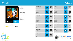 Must have Windows 8 apps - Flyte MP3