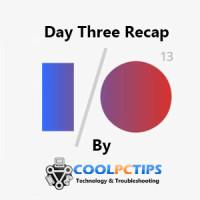Google IO 2013 Day Three Recap -